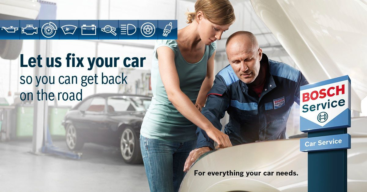 Your car service with Bosch