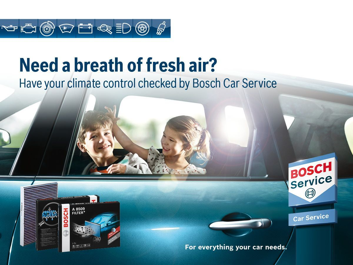 Book your cars air conditioning service today with Oxford Garage BCS centre