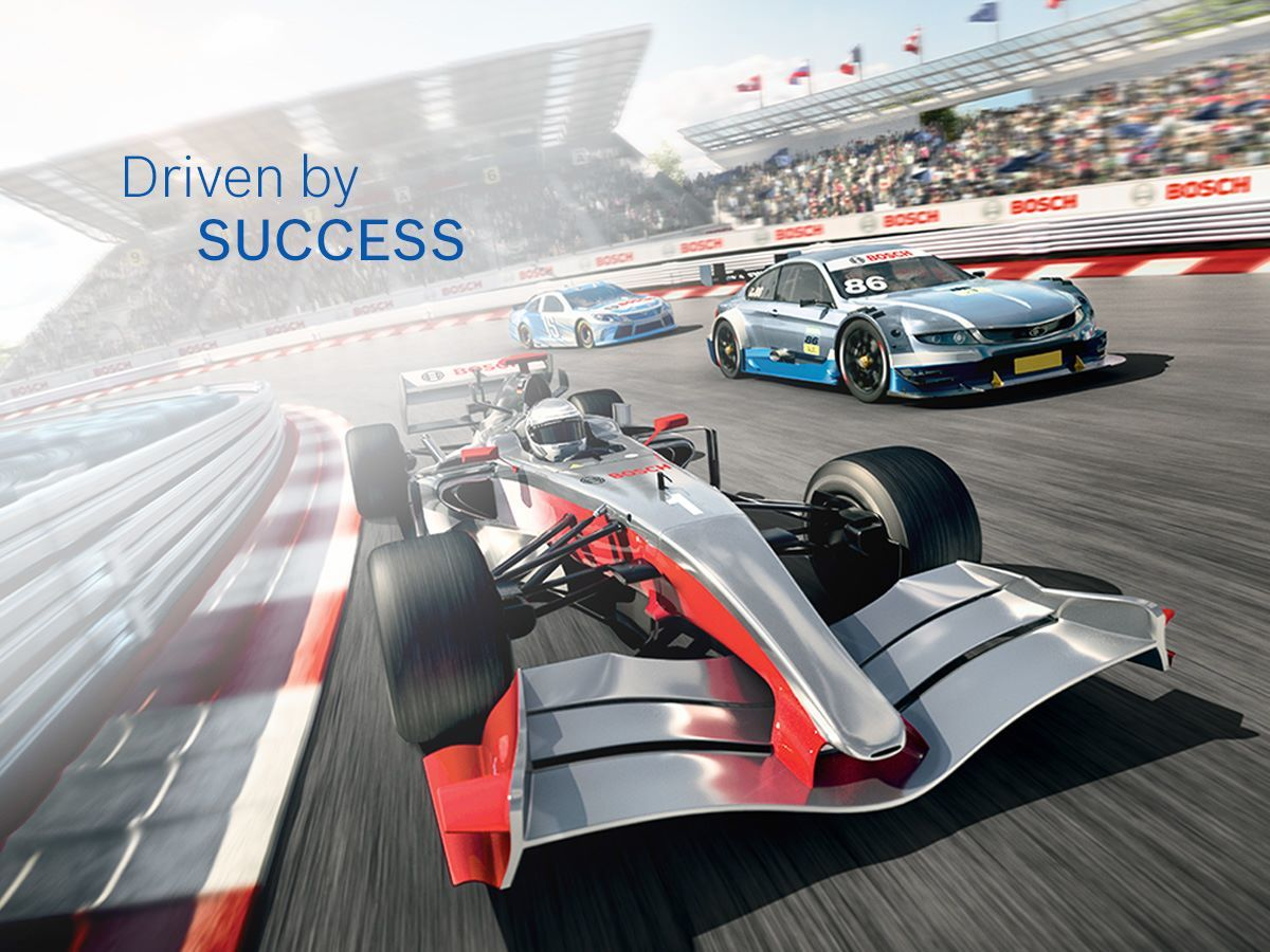 Bosch Driven by success