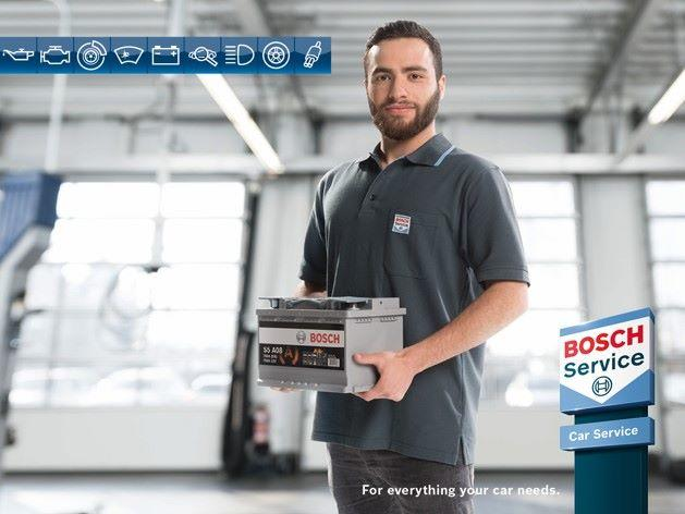 Year Guarantee on Bosch Batteries