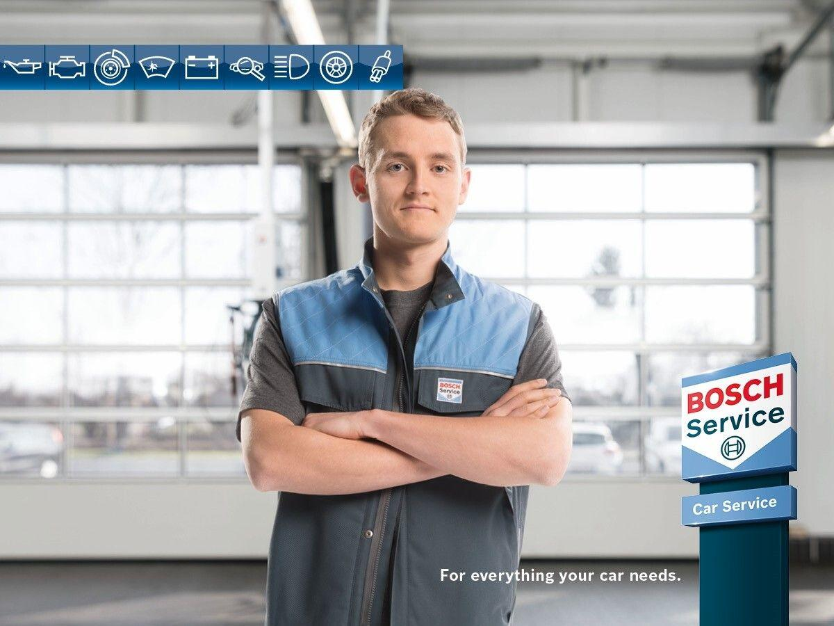 Trust our bosch workshop to look after your car