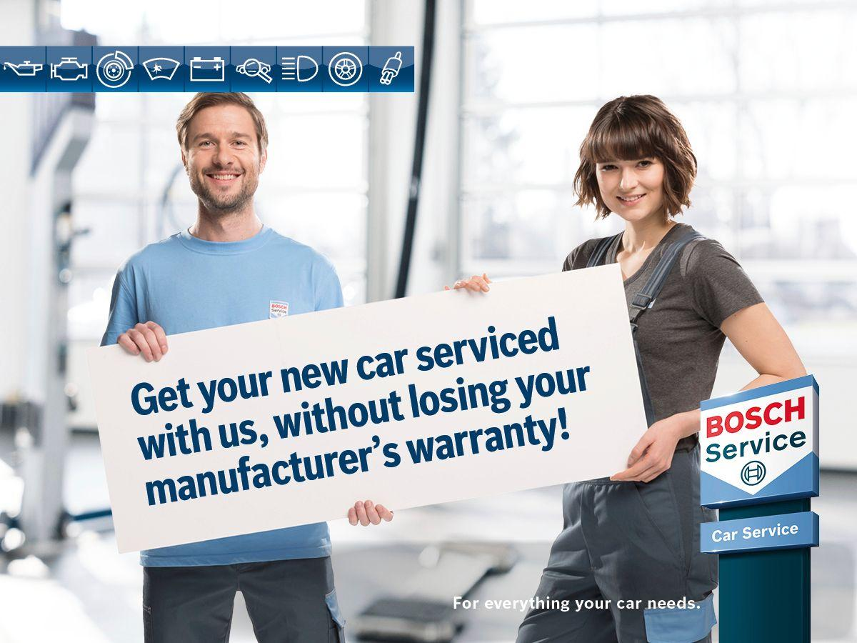 Trust us to look after your car