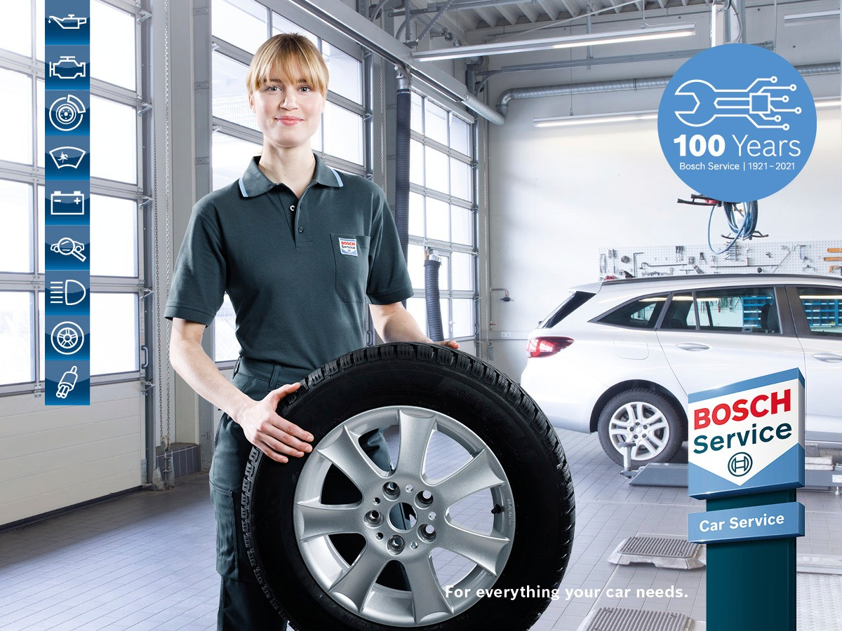 Why trust anyone else but your local Bosch Car Service